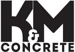 K & M Concrete Logo